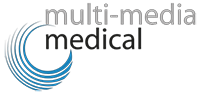 multi-media medical Logo